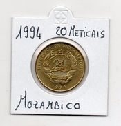 Mozambico - 1994 - 20 Meticais - Vedi Foto - (MW409) - Mozambico