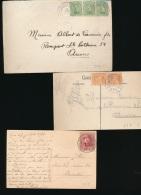 BELGIUM BELGIQUE CONFERENCE DIPLOMATIQUE DE SPA 1920 TROIS DOCUMENTS - 1919-1920 Trench Helmet