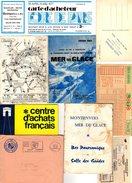 Lot De 200 Gr. Vieux Papiers Divers, Vignette, Publicité, Actes, Billet Foire De Paris 77, Mutuelles Du Mans, 1960/70/80 - Old Paper