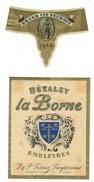 Rare // Dézaley, La Borne,J & P. Restuz Treytorrens Cully Vaud // Suisse - Etiquettes