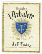 Rare // Dézaley, L'Arbalète,J & P. Testuz Treytorrens à Cully, Vaud // Suisse - Etiquettes