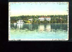 CPA    Lake  Upper Adirondack  Mountains  : Carte écrite 1910 - Adirondack