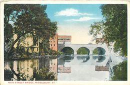 PIE 17-GAN-6056  : MAIN STREET BRIDGE MIDDLEBURY - Etats-Unis