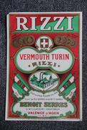 VERMOUTH TURIN - RIZZI, BENOIT SERRES, Valence D'Agen. - Other