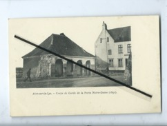 CPA  - Aire Sur La Lys - Corps De Garde De La Porte Notre Dame (1891) - Aire Sur La Lys