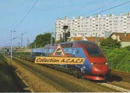 TGV Thalys PBKA, Rame N°4302, à Pierrefitte (93) - - Pierrefitte Sur Seine