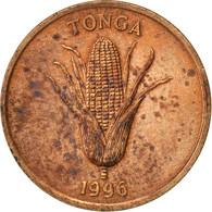 Tonga, King Taufa'ahau Tupou IV, Seniti, 1996, TTB, Bronze, KM:66 - Tonga