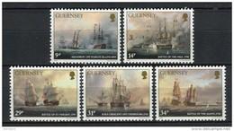 Guernsey 1986. Yvert 354-58 ** MNH. - Guernesey