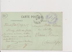 CPA - Cachet Région Du Nord Réquisition De Guerre Des Chevaux - Président De La Commission - ABBEVILLE - Monument - Guerre 1914-18