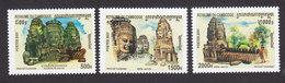 Cambodia, Scott #2104-2106, Mint Hinged, Tourism, Issued 2001 - Cambodia