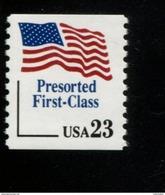 252422866   USA 1991 ** MNH SCOTT  2605 Flag PRESORTED FIRST CLASS - United States