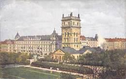 TCHEQUIE ( Europe De L'Est ) PRAHA Prag Prague :  Kral Vinohrady Vodarna - CPA Illustrée Colorisée N° 396 Série Minerva - Tsjechië