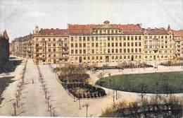 TCHEQUIE ( Europe De L'Est ) PRAHA Prag Prague :  Kralovske Vinohrady - CPA Illustrée Colorisée N° 110 Série Minerva - Tsjechië