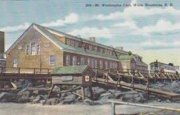 New Hampshire White Mountains Mount Washington Club Curteich