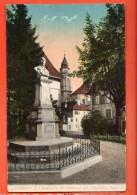 NEC-23 Solothurn St. Ursuskirche Mit Denkmal. Ecrite Par Un Militaire - SO Solothurn