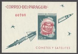 Paraguay 1963 Mi# Bl.37* WALTER SCHIRRA, US ASTRONAUT - Paraguay