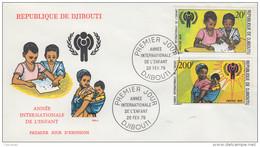 Enveloppe  FDC  1er  Jour   DJIBOUTI    Année  Internationale  De  L' ENFANT   1979 - Djibouti (1977-...)