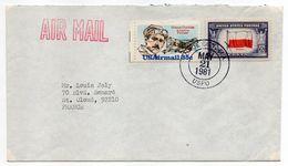 USA--1981--Lettre De DADE CITY (Floride ) Pour St CLOUD (France)- Timbres Sur Lettre--- Cachet - United States