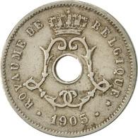 Belgique, 5 Centimes, 1905, TTB, Copper-nickel, KM:54 - 1865-1909: Leopold II