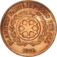 Tonga, King Taufa'ahau Tupou IV, 2 Seniti, 1996, TTB, Bronze, KM:67 - Tonga