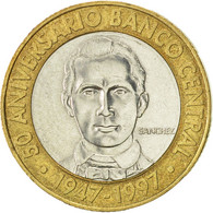 Dominican Republic, 5 Pesos, 1997, SUP, Bi-Metallic, KM:88 - Dominicaine