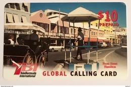 Front Street Hamilton - Bermuda