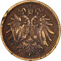 Autriche, Franz Joseph I, Heller, 1895, TB+, Bronze, KM:2800 - Autriche
