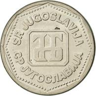 Yougoslavie, 5 Dinara, 1993, SUP, Copper-Nickel-Zinc, KM:156 - Joegoslavië