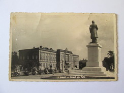 Ismail-Girls' High School,Romanian Used Postcard 1938,censored Galati Circulated With Colentina Stamp 1941 - Romania