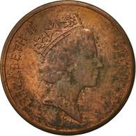 Fiji, Elizabeth II, Cent, 1992, TTB, Copper Plated Zinc, KM:49a - Fidji