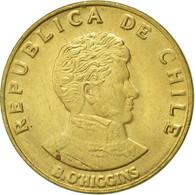 Chile, 10 Centesimos, 1971, SUP, Aluminum-Bronze, KM:194 - Chile