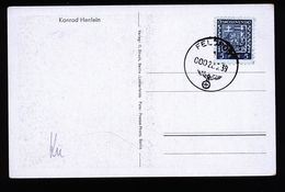 A4880) DR Bildkarte Mit CSR-Marke Und Feldpoststempel 22.5.39 ? - Briefe U. Dokumente
