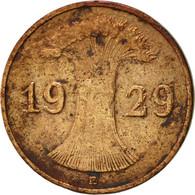 Allemagne, République De Weimar, Reichspfennig, 1929, Muldenhütten, TTB - [ 3] 1918-1933 : Weimar Republic