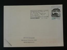 83 Var Draguignan Dolmen Prehistory 1988 - Flamme Sur Lettre Postmark On Cover - Prehistory
