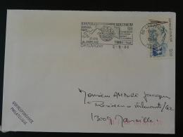 86 Vienne Chauvigny Jumelage Trino 1986 - Flamme Sur Lettre Postmark On Cover - Storia Postale