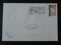 88 Vosges Darney Jumelage Slavkov Austerlitz 1993 - Flamme Sur Lettre Postmark On Cover - Marcophilie (Lettres)