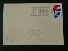 88 Vosges Etival Clairefontaine 100 Ans De La Flamme 1998 - Flamme Sur Lettre Postmark On Cover - Maschinenstempel (Werbestempel)