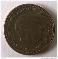 Monnaies - Espagne - 1947 - 1 Peseta - - 1 Peseta