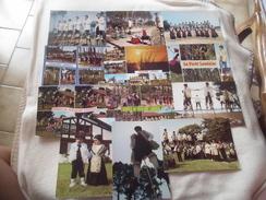 LOT DE 12 CARTES FOLKLORE LANDAIS - Postcards