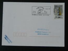 89 Yonne Saint Bris Le Vineux - Flamme Sur Lettre Postmark On Cover - Oblitérations Mécaniques (flammes)