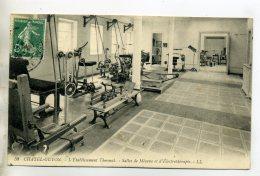63 CHATEL GUYON Sport Réeducation Salles De Mécano Et D'Electrothérapie  Machines 1909 Timb     /D01-2016 - Châtel-Guyon