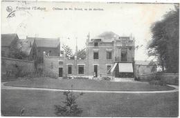 Fontaine-l'Evêque NA32: Château De Mr Briard, Vu De Derrière 1912 - Fontaine-l'Evêque
