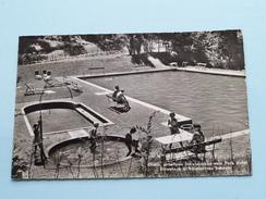 Giessbach S/ BRIENZERSEE Schwimmbad Vom PARK Hotel ( 0191 Globetrotter ) Anno 1958 ( Zie Foto Details ) ! - BE Berne