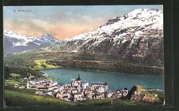 AK St. Moritz-Dorf, Ortsansicht Aus Der Vogelschau - GR Grisons