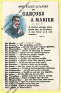 CPA  Nouvelles Litanies Des Garçons à MARIER - Uomini