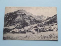 Valens Mit Dem Monteluna ( Fetzer ) Anno 19?? Stamp Frohsinn ( Zie Foto Details ) ! - SG St. Gall