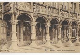 BELGIO - LIEGE - ENTREE DE PALAIS PROVINCIAL - ED. ER. THILL SERIE 8, N°43 - VIAGGIATA 08.10.1931 ANNULLO A TARGHETTA - Liège