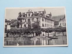 HOTEL De VILLE Et Du RIVAGE Pension : Ch. Bernhard ( Kohler ) Anno 1952 ( Zie Foto Details ) ! - VD Vaud