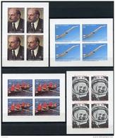 Sao Tome E Principe, 1977, Lenin, Gagarin, Concorde, Olympics, Rowing, MNH Imperforated Sheets, Michel 490-493B - Sao Tome And Principe