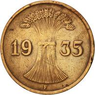 Allemagne, République De Weimar, Reichspfennig, 1935, Stuttgart, TTB, Bronze - [ 3] 1918-1933 : Weimar Republic